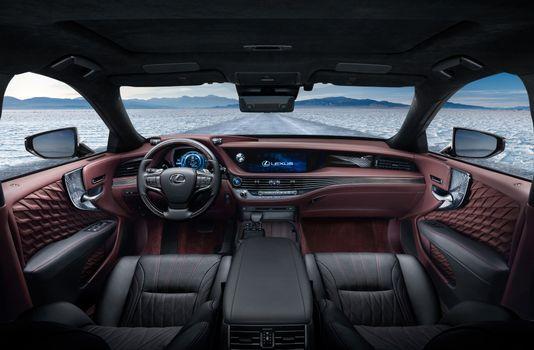 Бесплатные фото Lexus LS 500h,автомобиль,машина