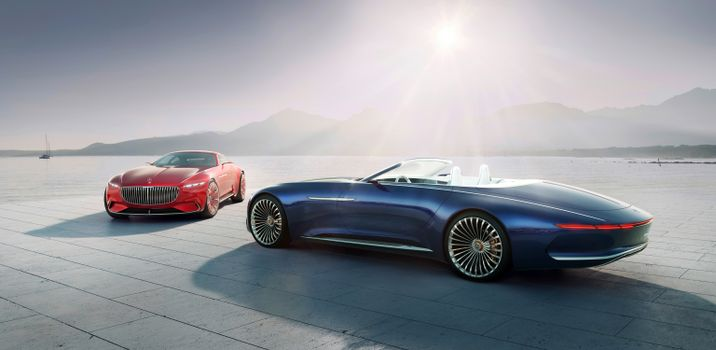Фото бесплатно Mercedes-Maybach 6 Cabriolet, машина, автомобиль