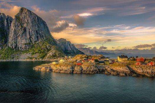 Скачать фотографию лофотенские острова лофотенские острова