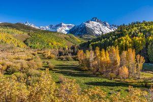 Фото бесплатно Колорадо, Соединенные Штаты, Гора Снеффельс
