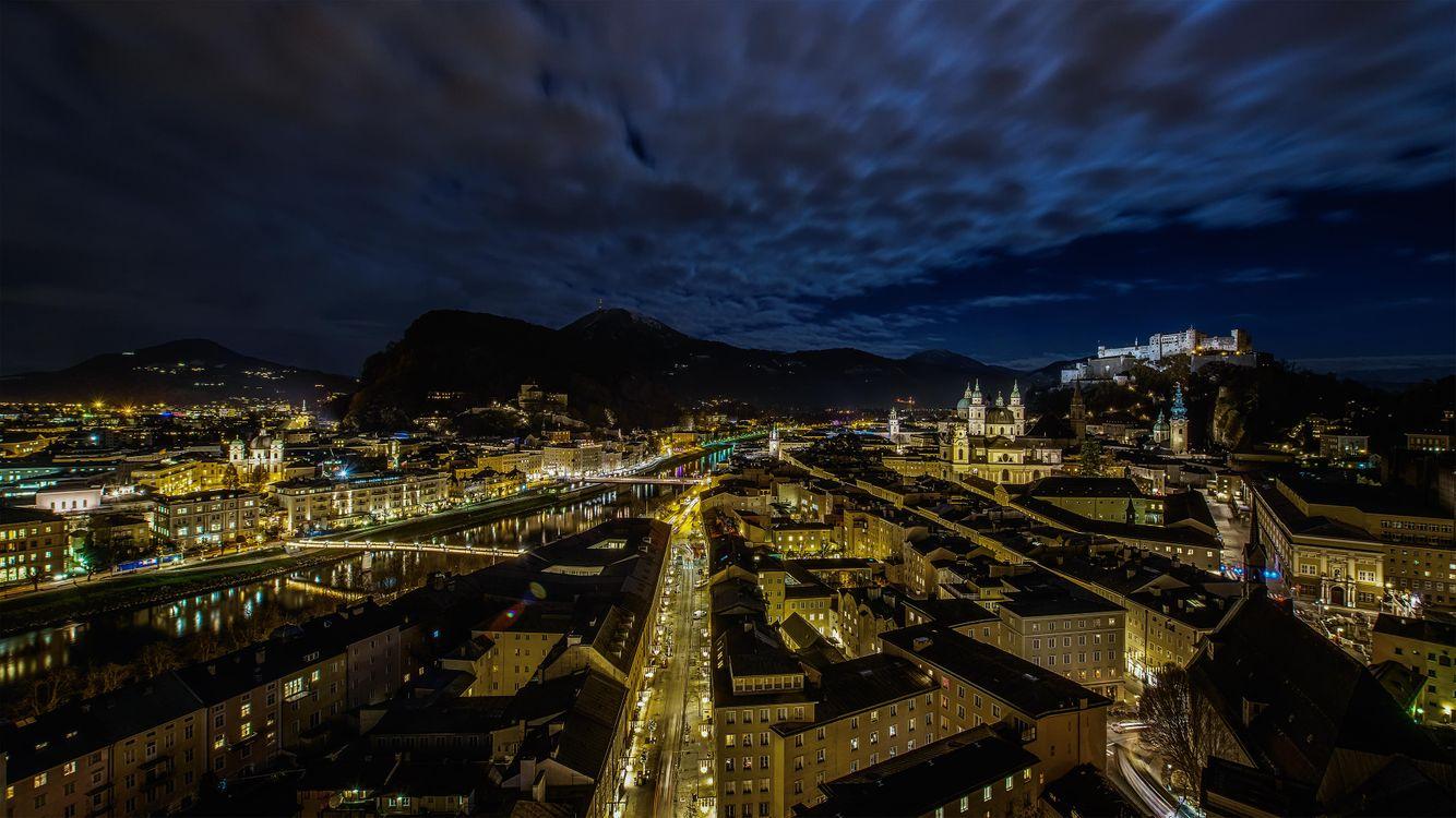 Фото бесплатно Salzburg, Зальцбург, Австрия - на рабочий стол