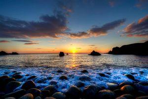 Бесплатные фото Foreland Point,Gweedore,графство Донегал,Ирландия закат,море,скалы,камни
