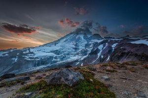 Фото бесплатно Washington, закат, горы