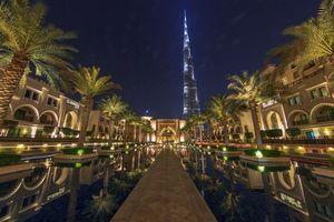 Бесплатные фото Дубай, Бурдж-Халифа