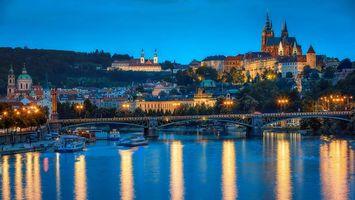 Заставки Прага, Чехия, Река Влтава