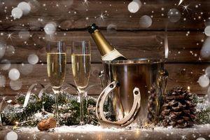 Фото бесплатно очки, Рождество, элементы