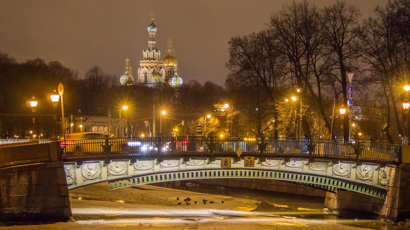 Картинка Церковь Спаса на крови, Санкт-Петербург на рабочий стол. Скачать фото обои город