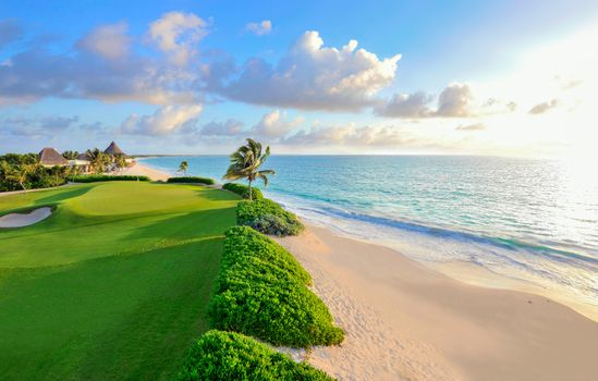 Photo free sea, tropics, golf club