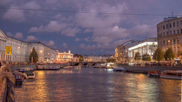 Бесплатные фото Fontanka river,St Petersburg