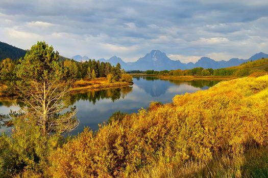 Фото бесплатно Grand Teton National Park, Wyoming, горы