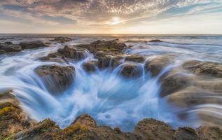Бесплатные фото Парк развлечений Вавалоли,Колодец Пеле Кона,закат солнца,Гавайи,Большой остров,горные породы,Кайлуа-Кона