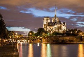 Заставки Paris, France, Notre Dame