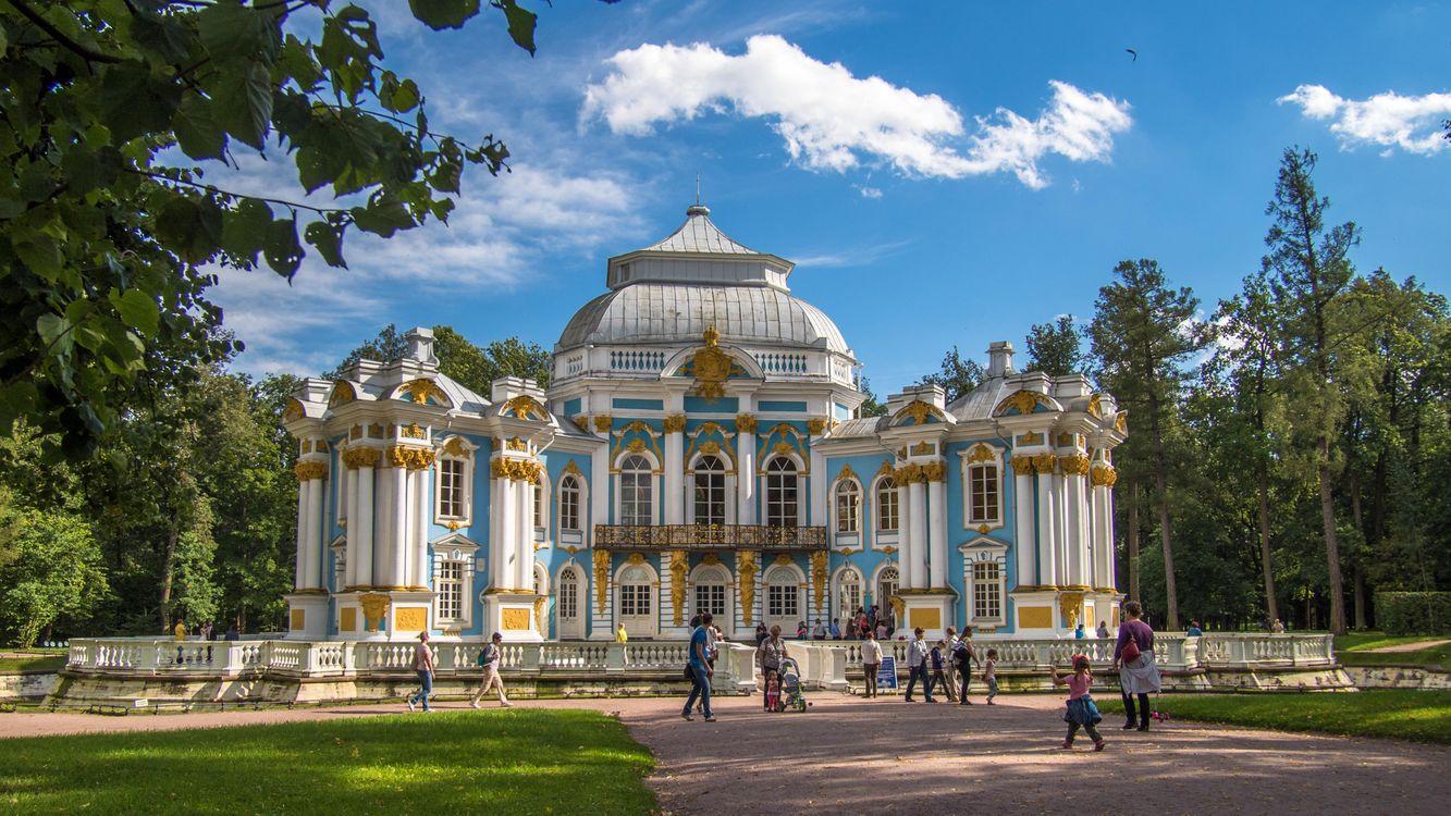 Картинка Tsarskoye Selo, St Petersburg на рабочий стол. Скачать фото обои город