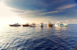 Бесплатные фото море,яхты,пейзаж