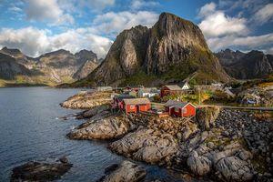 Бесплатные фото Лофотенские острова,Рейне,Reine,Норвегия,Lofoten,Lofoten Islands,Hamnoy