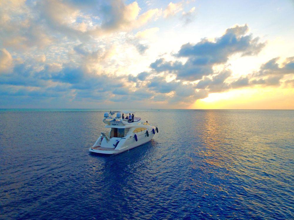 Фото бесплатно море, яхта, закат, пейзажи - скачать на рабочий стол