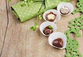 Фото бесплатно shokolad, sweets, with