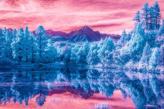 Photo free San Juan Mountains, Colorado, lake
