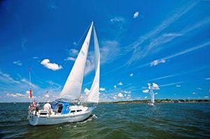 Бесплатные фото море, яхты, отдых
