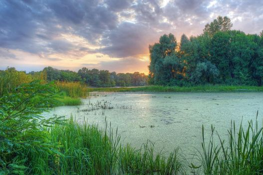 Фото бесплатно пейзаж, Днепр, река