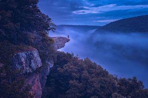 Бесплатные фото Whitaker Point,Arkansas,Уитакер-Пойнт,Арканзас,горы,скалы,деревья