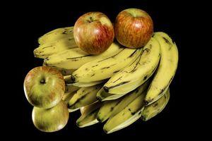 Бесплатные фото бананы,яблоки,десерт,фрукты,еда