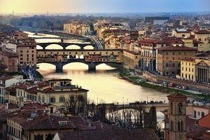 Бесплатные фото Понте Веккио,Флоренция,Италия
