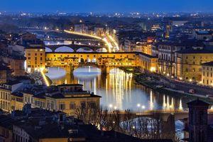 Фото бесплатно Понте Веккио, Флоренция, Италия