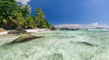 Заставки пляж, пейзаж, остров