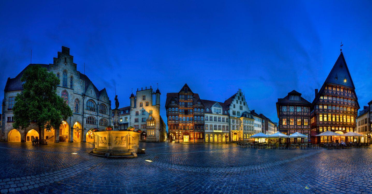 Фото бесплатно Hildesheim, Germany, Хильдесхайм, Германия, город