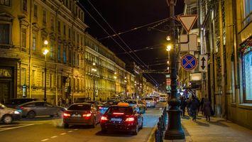 Бесплатные фото Nevsky prospect,Saint-Petersburg