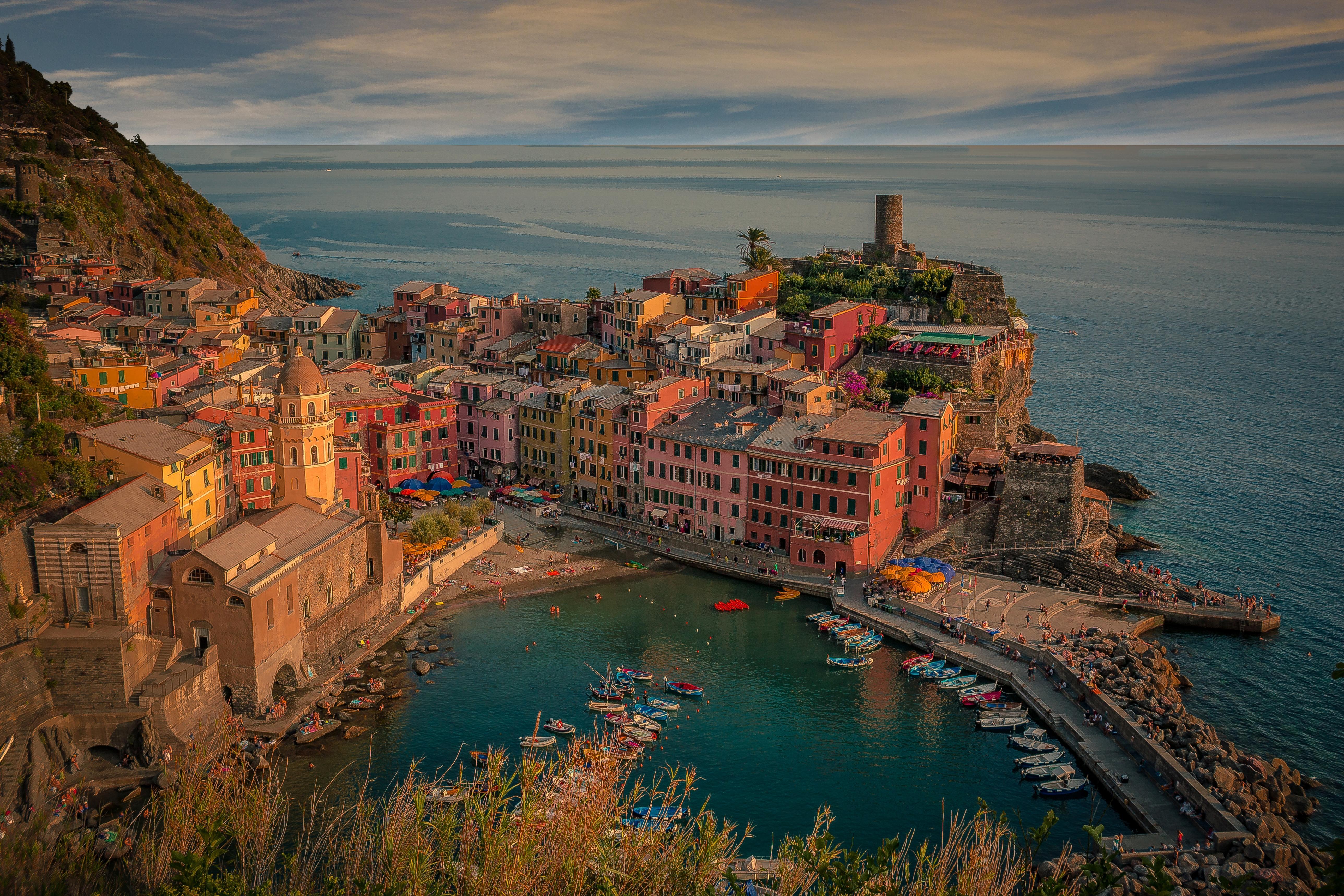 Обои Vernazza, Cinque Terre, Вернацца, Чинкве-Терре