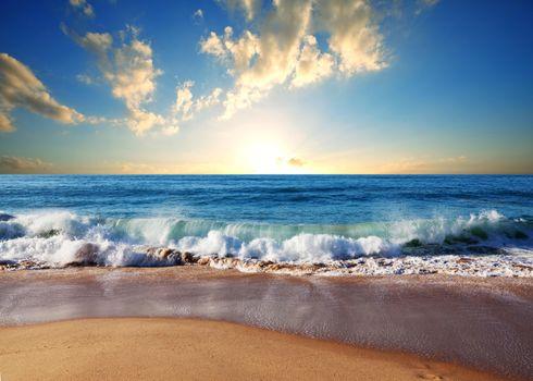 Фото бесплатно море, пляж, волны