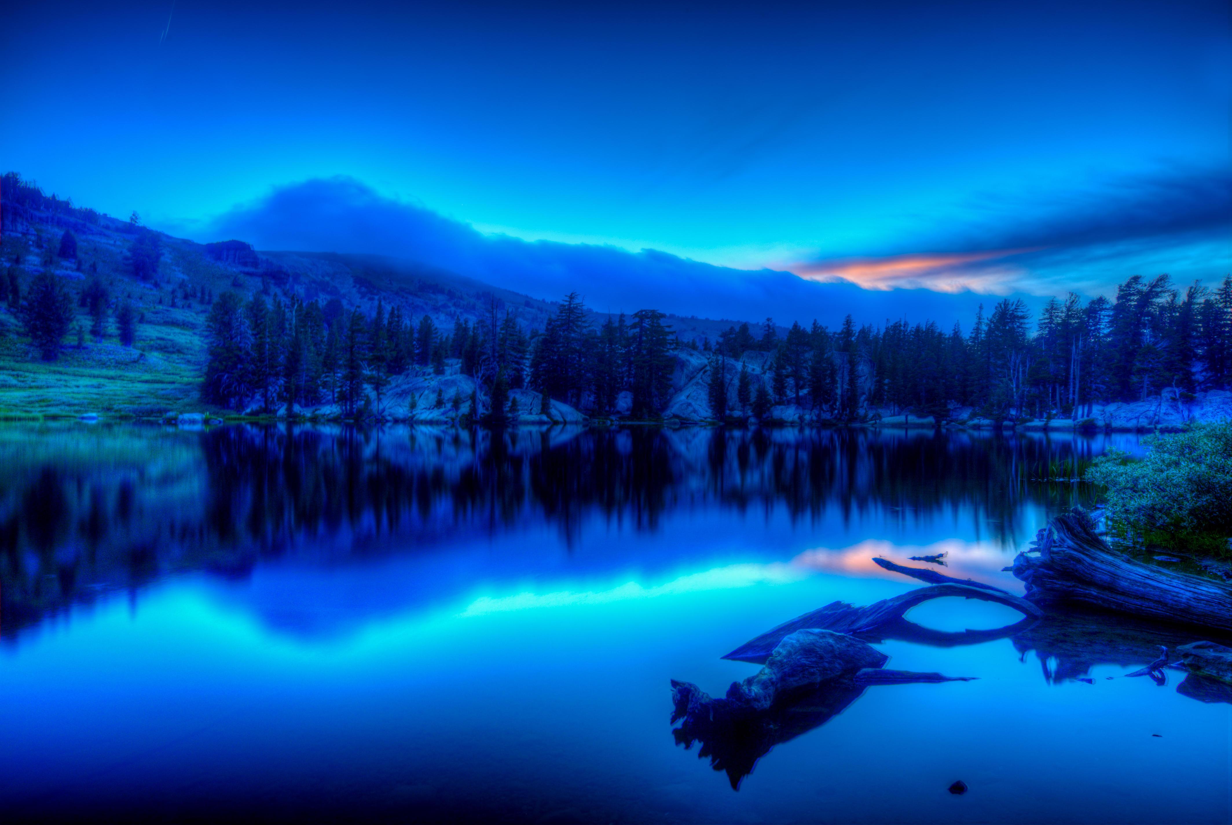 Обои Shower Lake, Сьерра-Невада, Калифорния, Тихоокеанский гребень