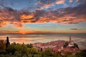 Фото бесплатно Пиран, Словения, Средиземное море