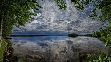 Фото бесплатно Финляндия, отражение, пейзаж