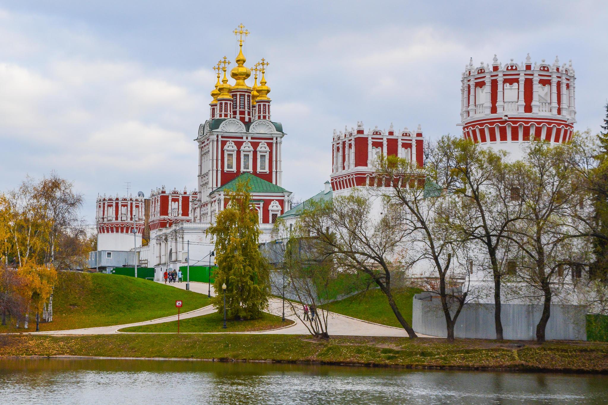 Обои Москва, Богородице-Смоленский Новодевичий монастырь, Россия