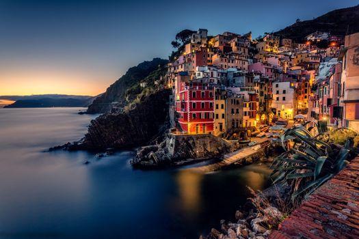 Фото бесплатно Riomaggiore, Cinque Terre, Italy
