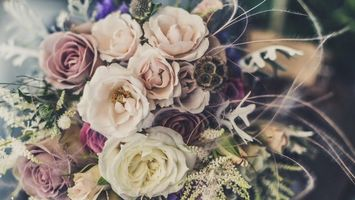 Photo free roses, flowers, bouquet