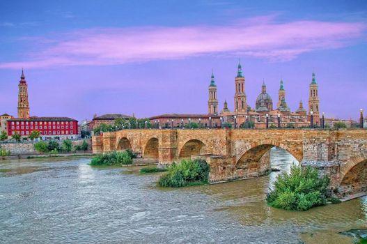 Photo free Spain, Zaragoza, Basilica del Pilar