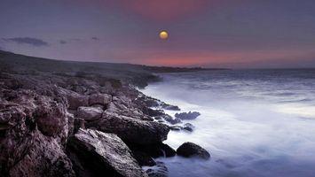 Бесплатные фото закат, море, небо, скалы, пейзаж
