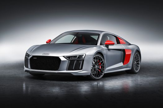 Free audi r8 v10 coupe audi sport edition, the car is a beautiful wallpaper for desk