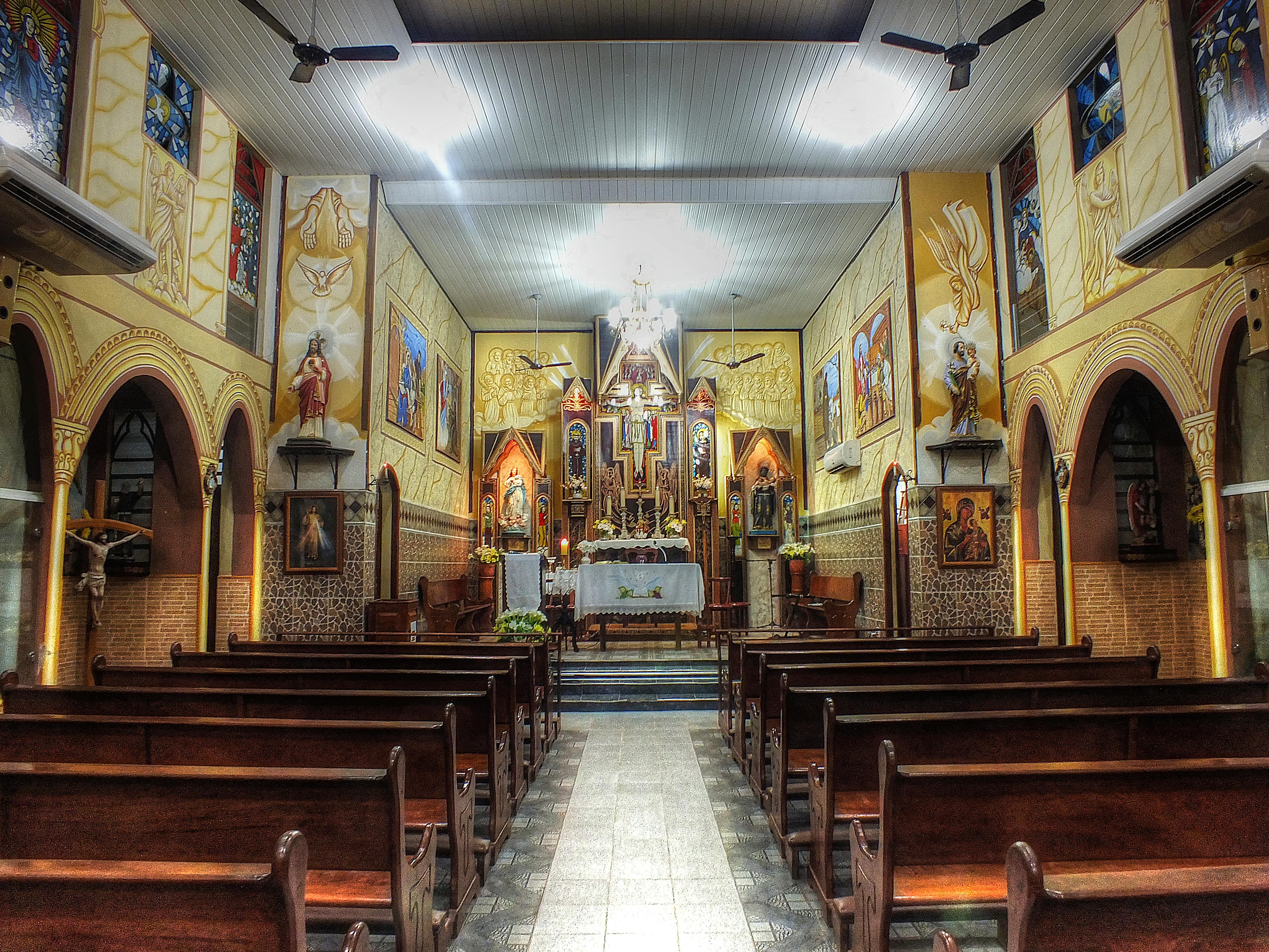 Обои Церковь Сан-Бенедито, Abaetetuba, Пара, Бразилия