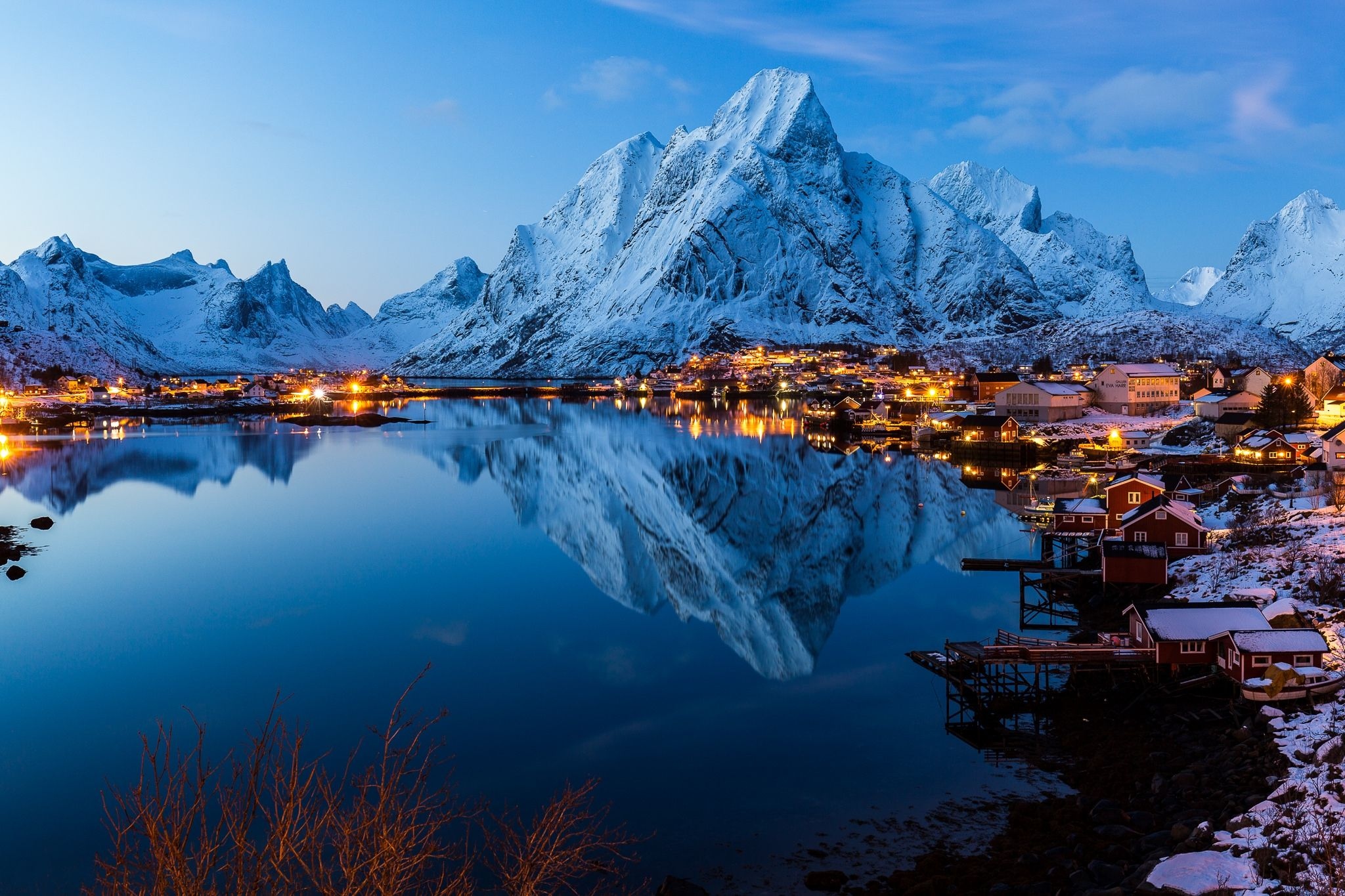 этом обзоре лофотенские острова зимой фото сочетание красоты