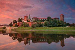 Фото бесплатно Королевский замок Вавель, Краков, Польша