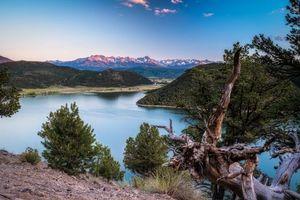 Бесплатные фото Colorado,река,горы,деревья,пейзаж