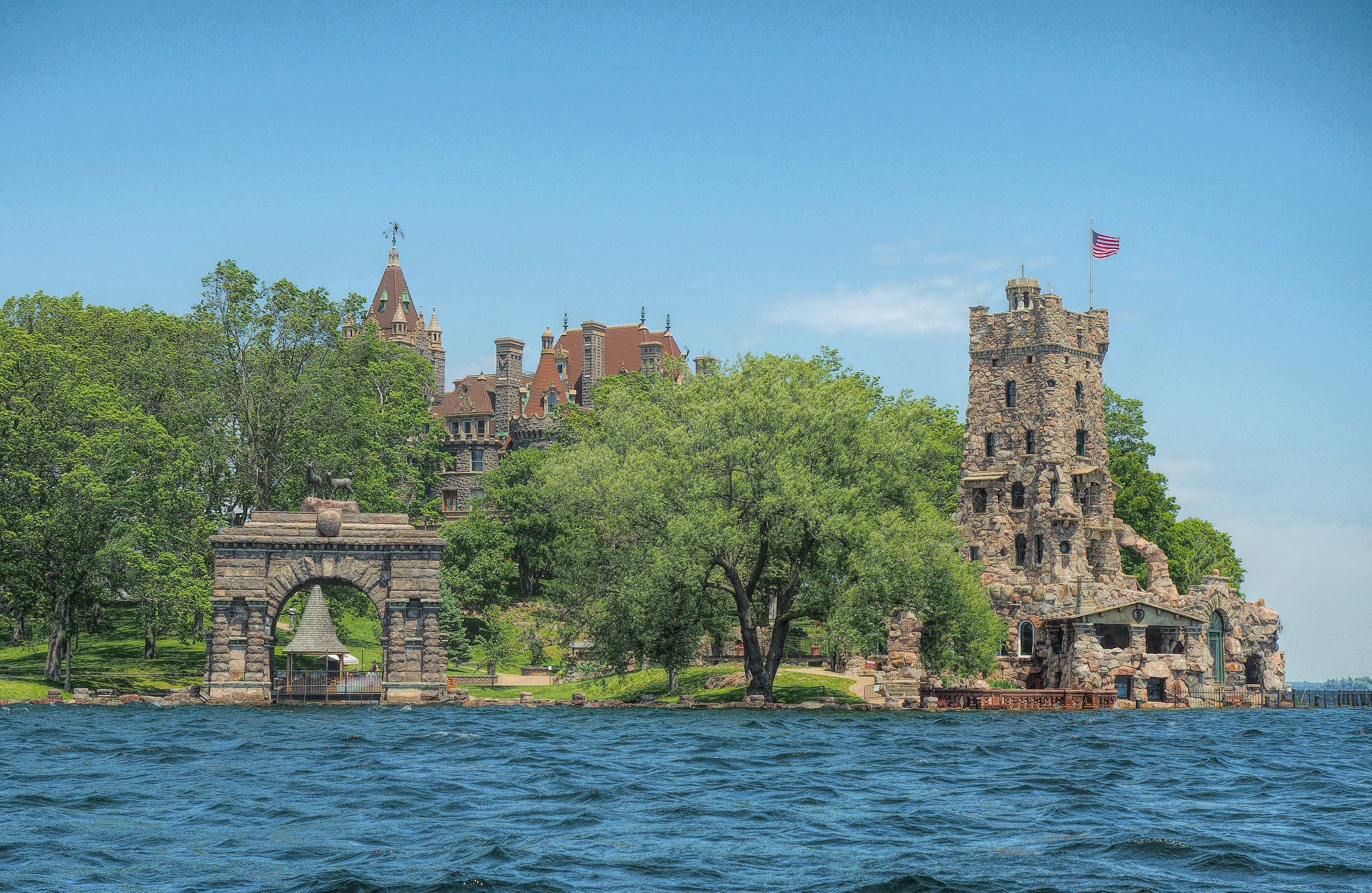 Александрийский залив, Замок Болдт, Канада, Озеро Онтарио, Штат Нью-Йорк, Оттава, Река Святого Лаврентия