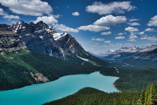 Фото бесплатно Озеро Пейто, Национальный парк Банф, Канадские Скалистые горы