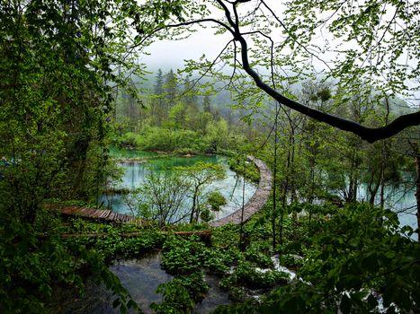 Фото бесплатно Хорватия, Плитвицкие озёра, Природный парк