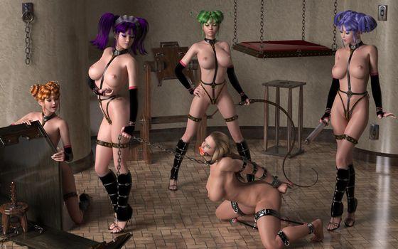 Заставки 3D, эротика, фэнтези